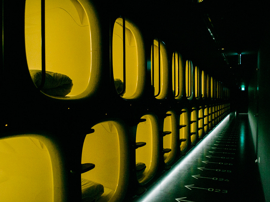 9H Nine Hours Capsule Hotel Review