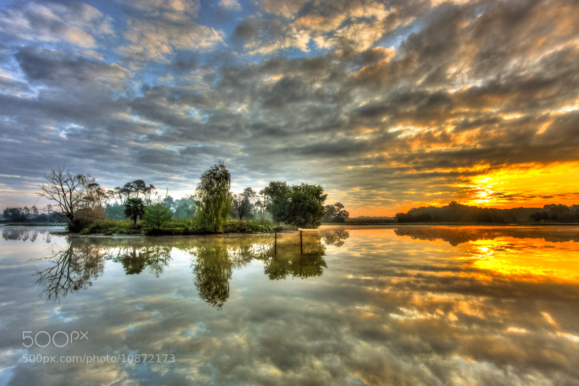 Photograph Morning Lake by Anth Optic on 500px