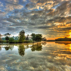 Morning Lake by Anth Optic (Anthoptic)) on 500px.com