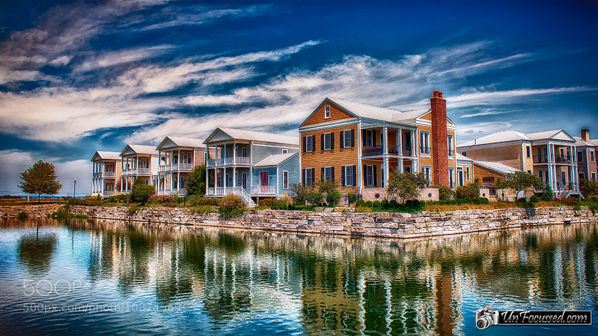 Photograph Reflecting On New Town (2) by Bill Tiepelman on 500px