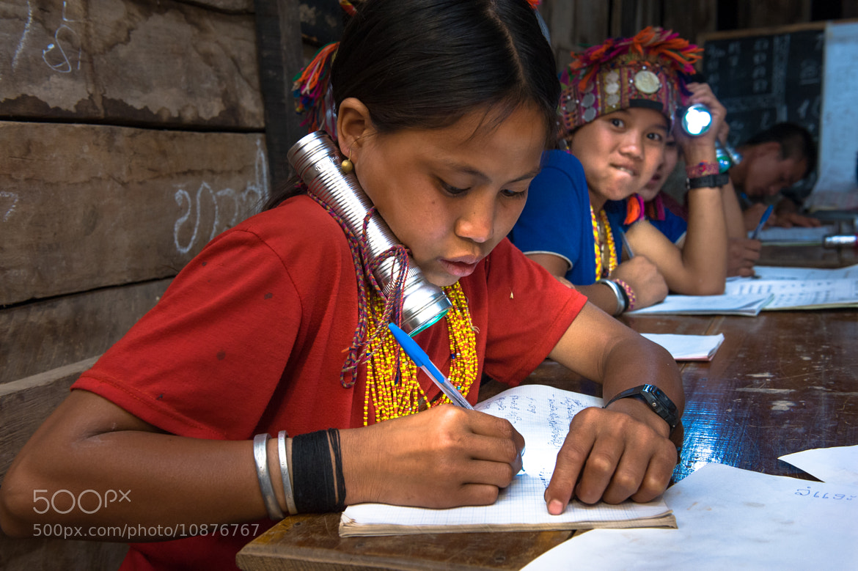 Photograph Akha school girls in village school by Ari Vitikainen on 500px