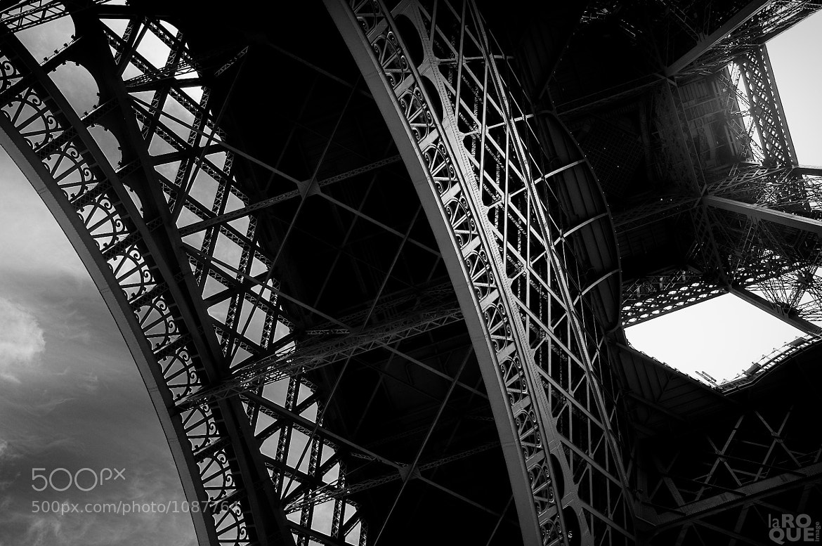 Photograph eiffel looking up | Paris by Patrick La Roque on 500px