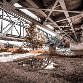 Under the bridge by Tor Ivan Boine (tiboine)) on 500px.com