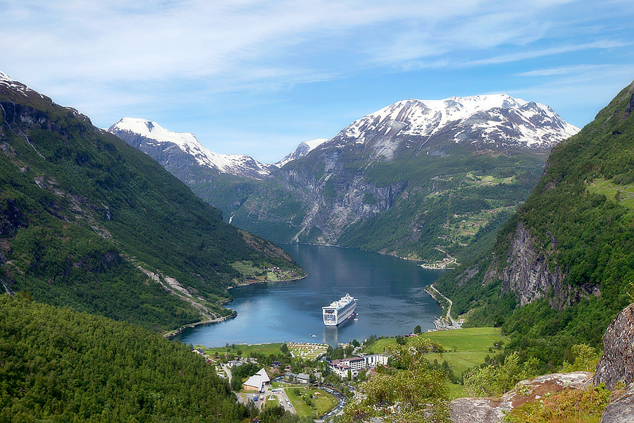 Photograph Geiranger fjord by Kristof VT on 500px