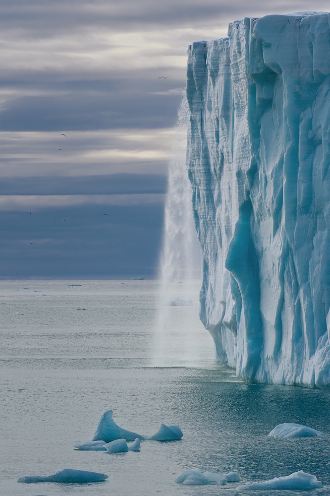 Photograph Glacial Waterfall by Mike Reyfman on 500px