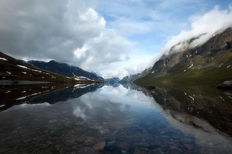 Photograph Gjende Lake Norway by Kristof VT on 500px