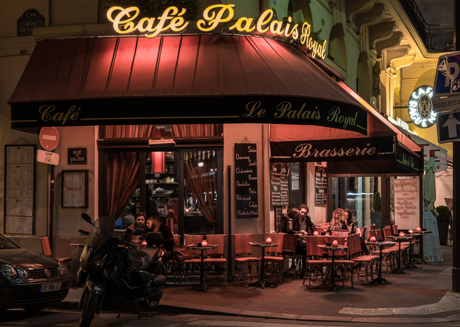 Photograph Cafe Palais Royal - Paris by Pat Kofahl on 500px