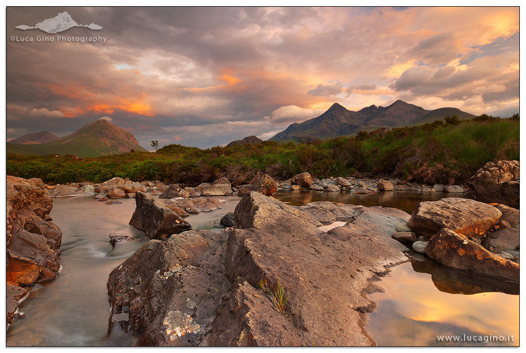 Photograph Sligachan Sunset by Luca Gino on 500px