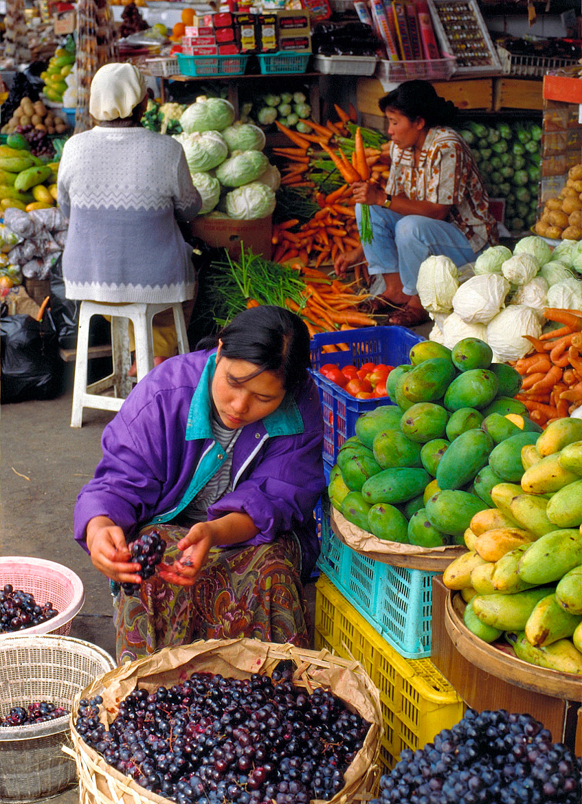 Photograph Fruit & vegetable market, Indonesia by John Barker on 500px