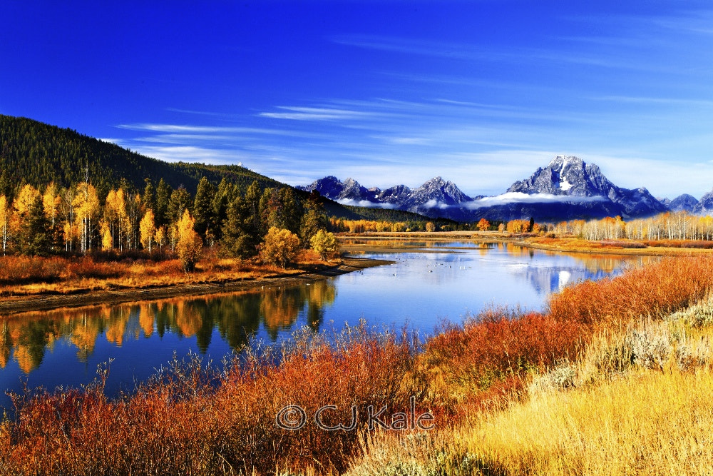 Photograph The Tetons in fall by Cj Kale on 500px