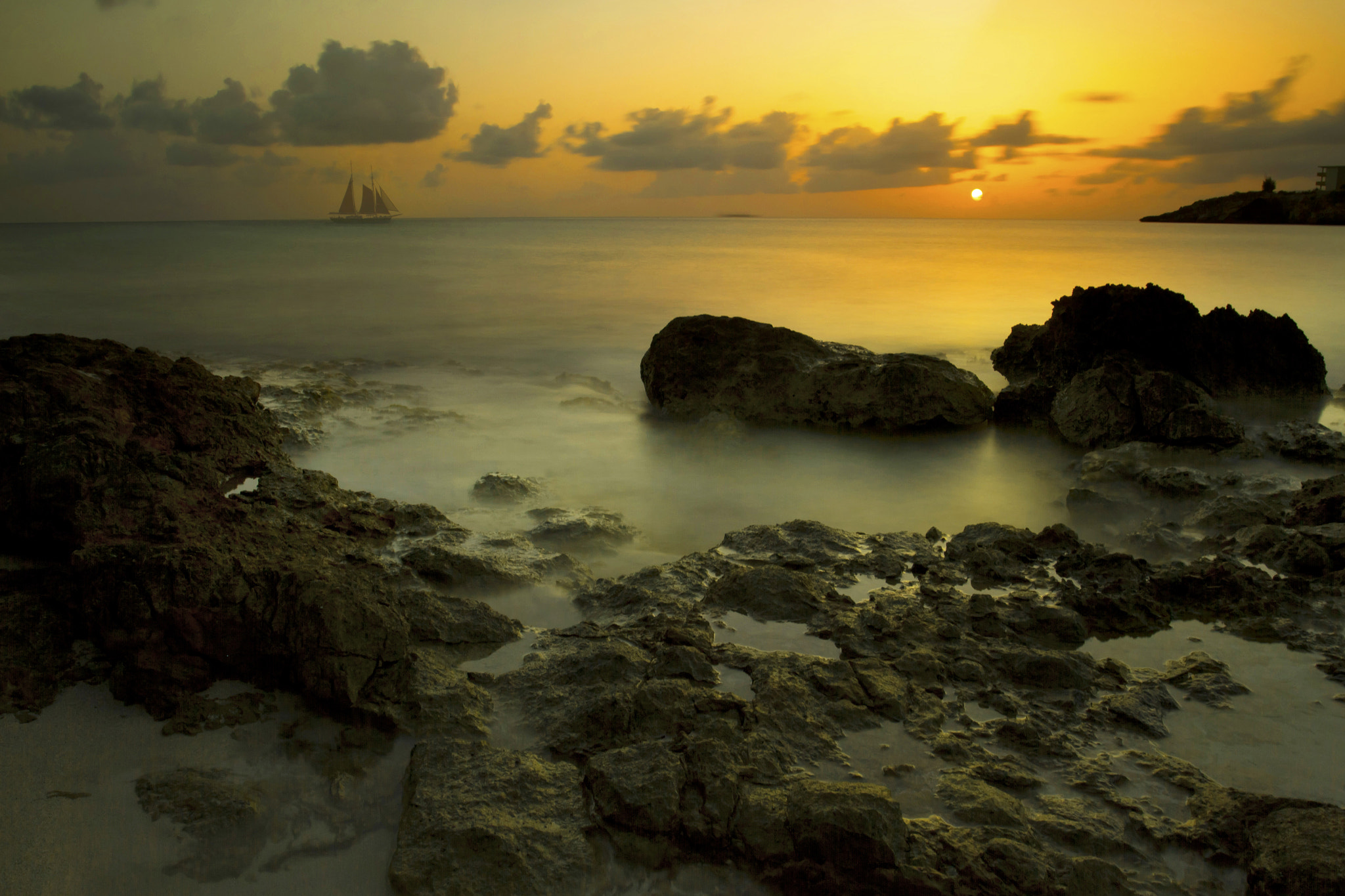 Photograph Sunset in Sint Martin by Jo Hendley on 500px