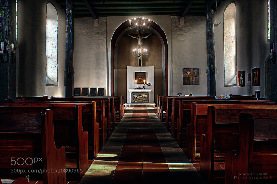 Photograph church by Marco Baum on 500px