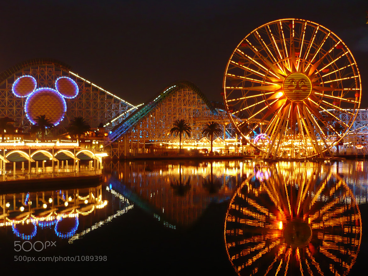 Photograph California Adventure After Dark by Richard Michael Johnson on 500px