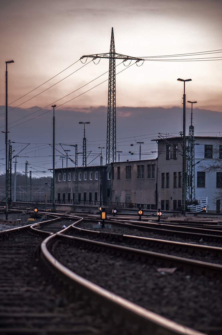 Photograph The TrainStation by Bev Y. on 500px