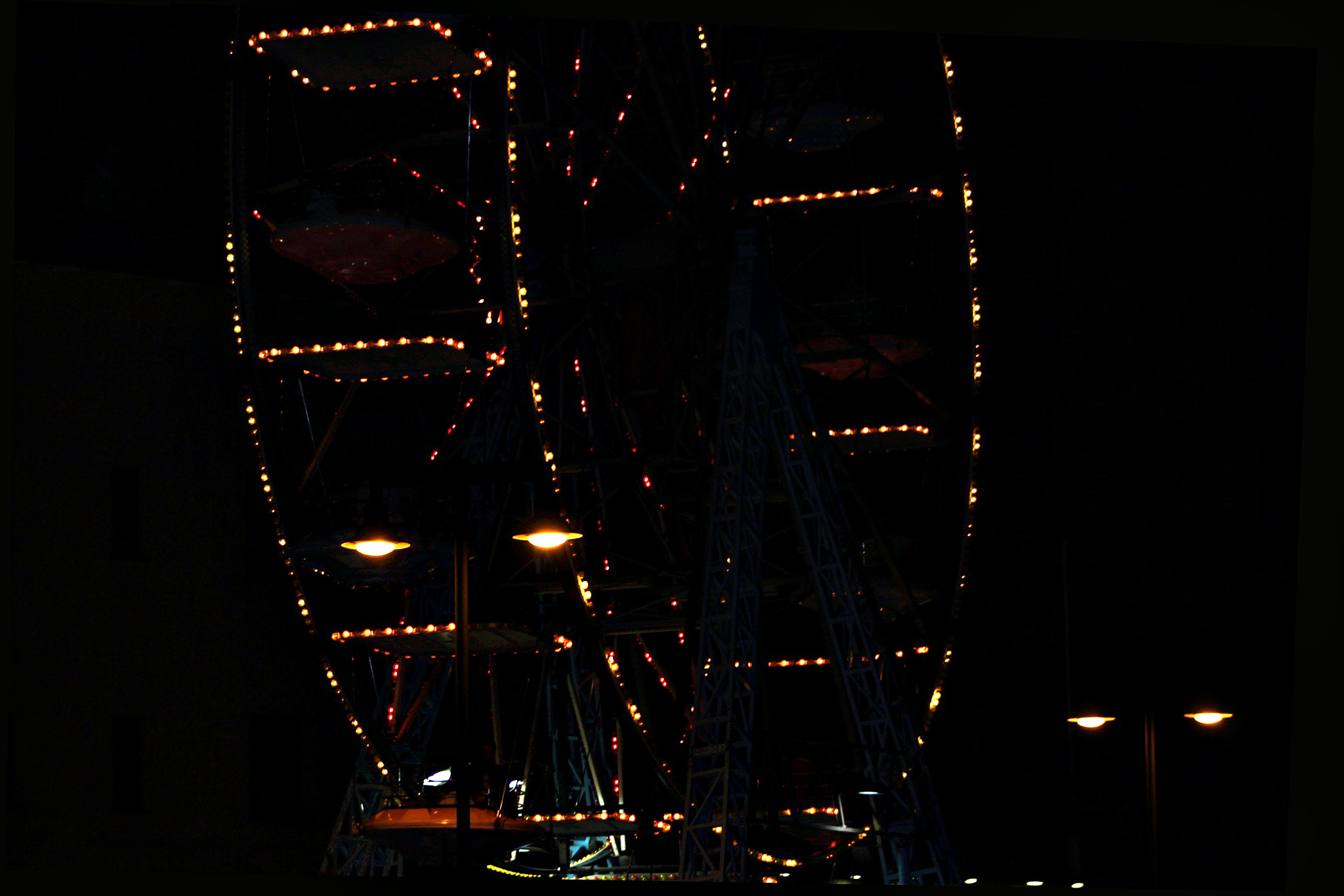 Photograph The ghost of ferris wheel by Urbinati Roberto on 500px