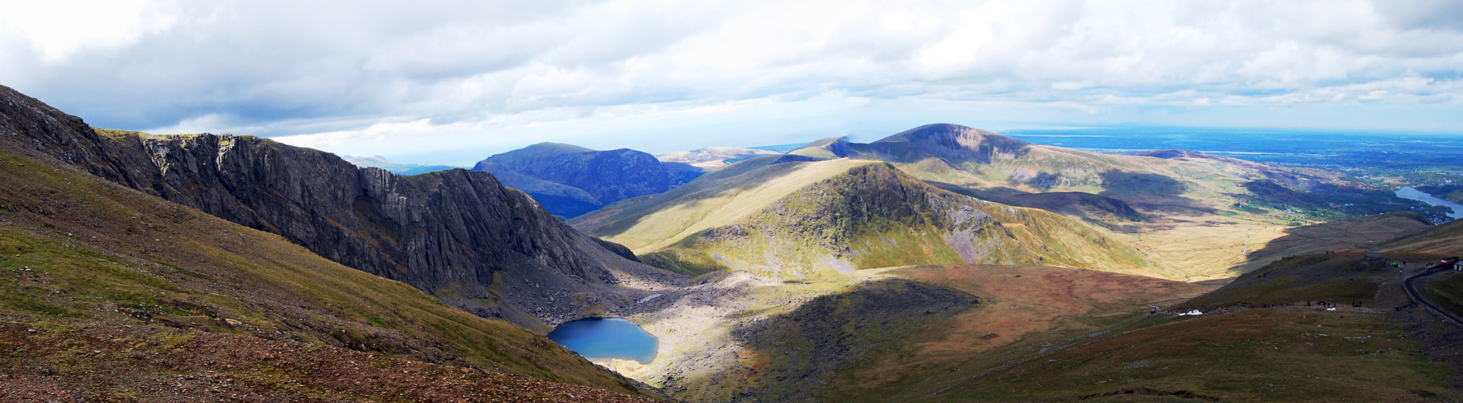 Photograph Panoramic view from Snowdon by Neil Bryars on 500px