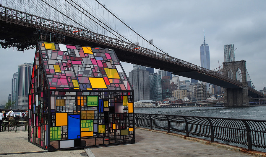 Photograph Stained Glass House, Brooklyn by Nancy Lundebjerg on 500px