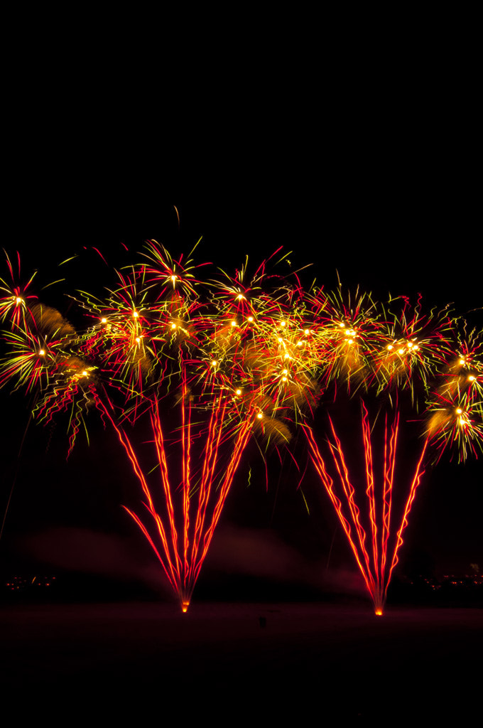 Photograph 2011 Canada Day Fireworks by Ray Lavender on 500px