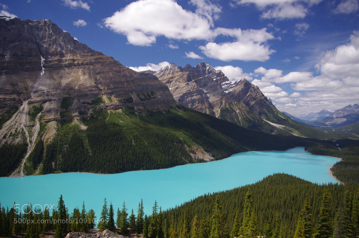 Photograph Peyto Lake Daylight. by Jag Canape on 500px