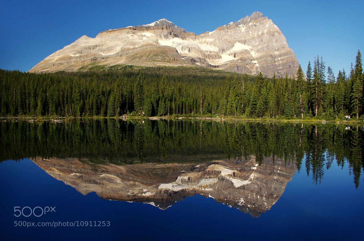 Photograph Perfect Reflection On O'Hara Lake by Jag Canape on 500px