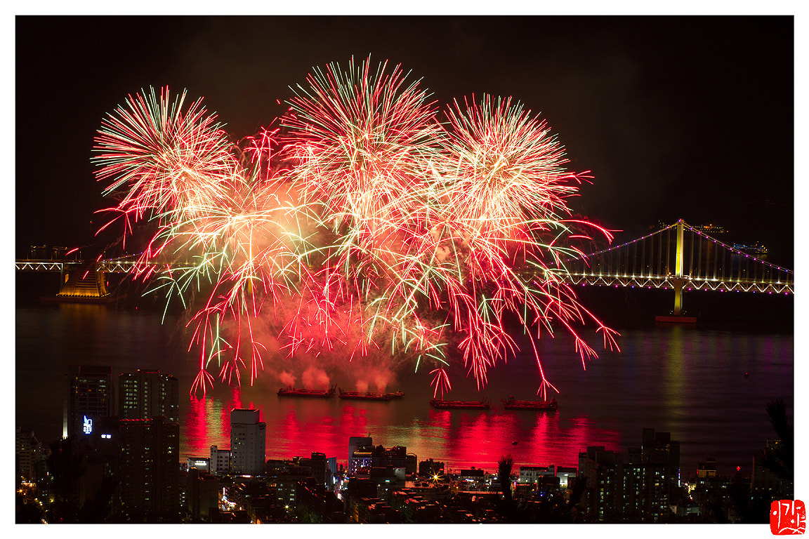 Photograph Fireworks Festival by Lee Kyeong Hwan on 500px