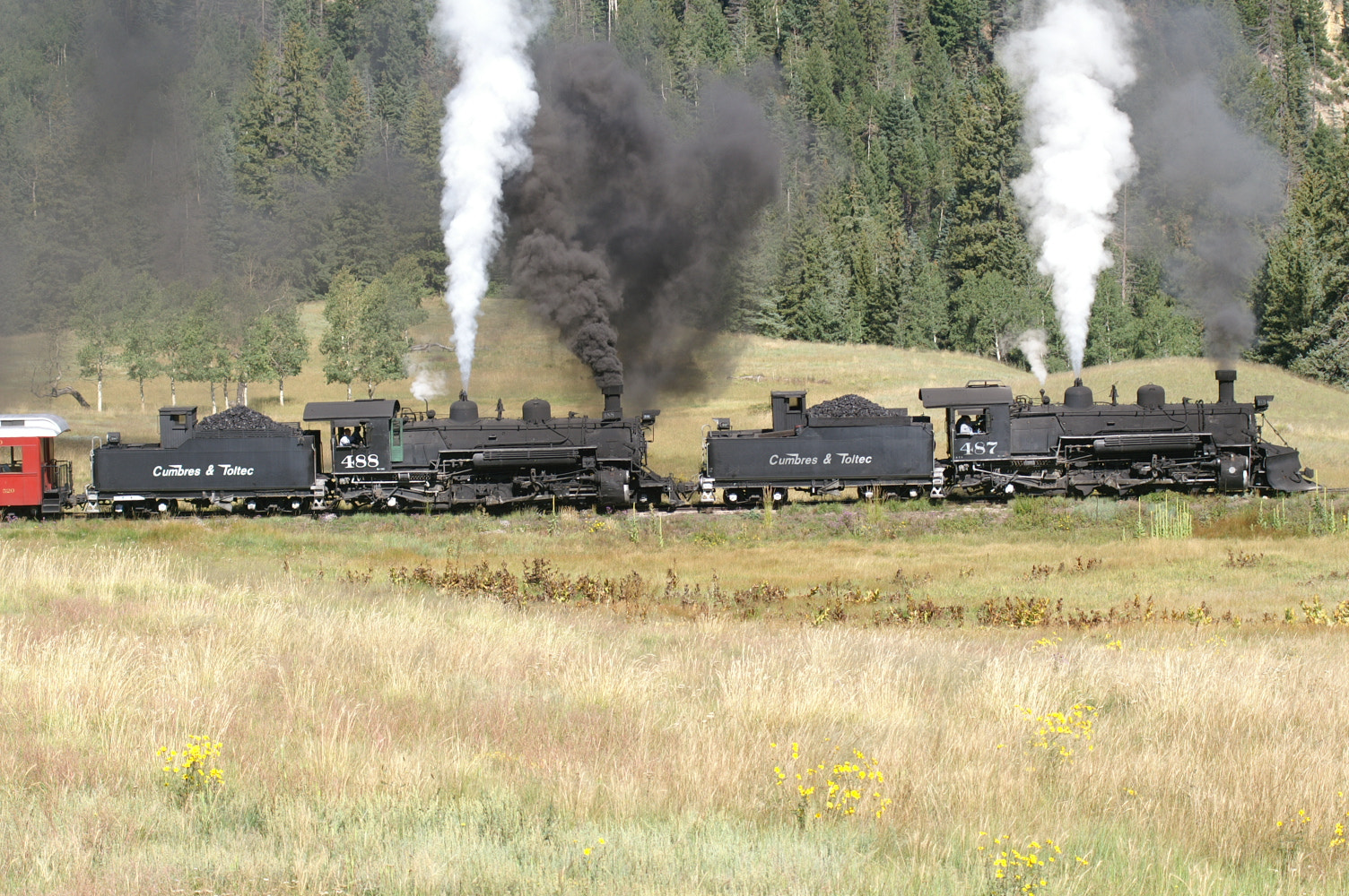 Photograph Cumber's Train by Kim Vaughn Sowards on 500px