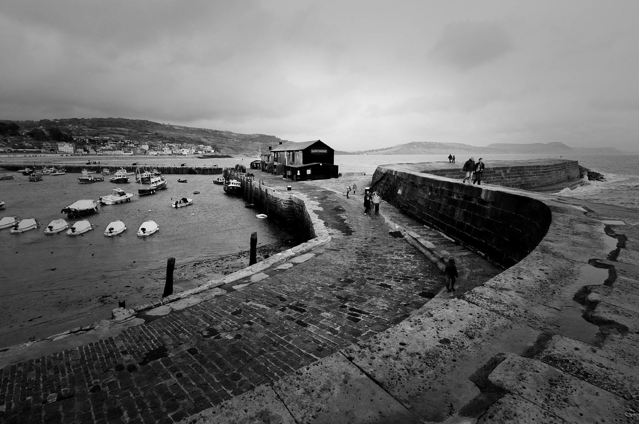 Photograph The Cobb, Lyme Regis by Neil Bryars on 500px