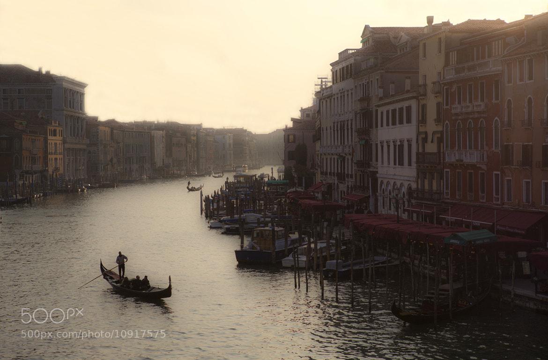 Photograph  Evening on Grand Canal by Béla Török on 500px