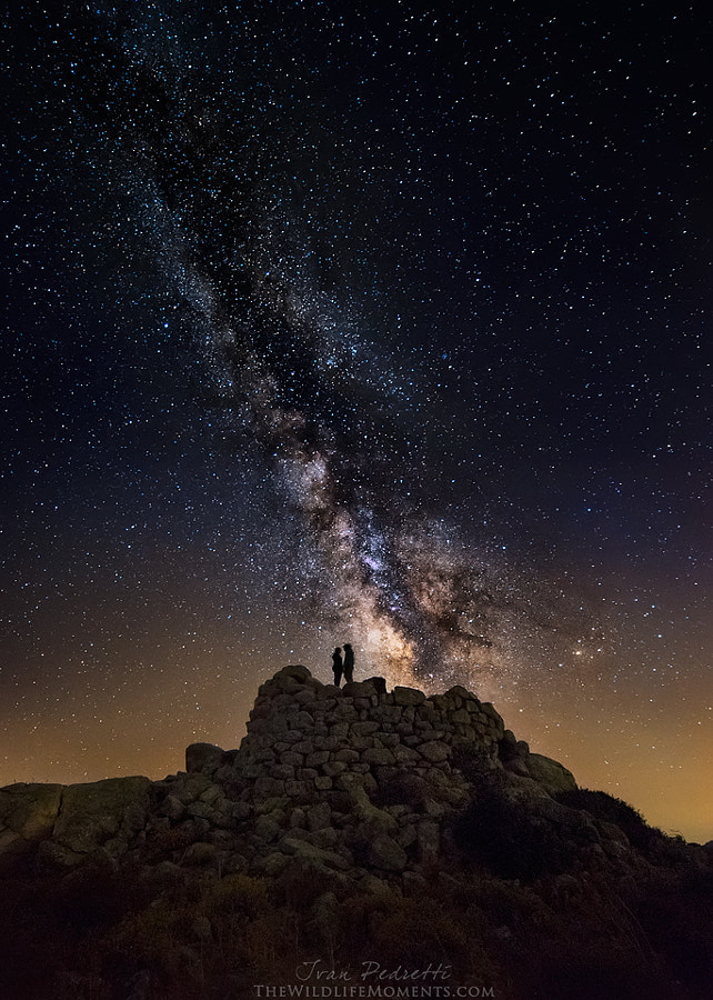 Starry lovers by Ivan Pedretti  on 500px.com