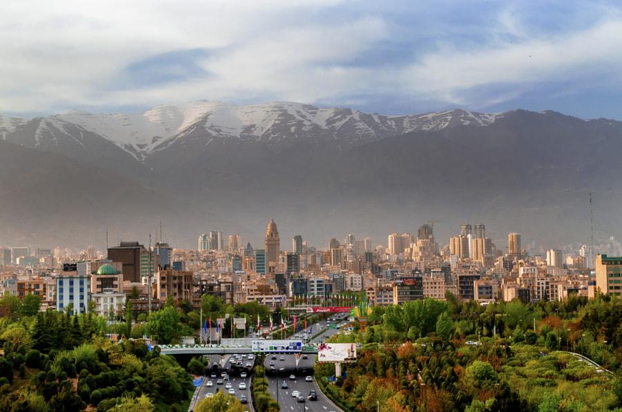 Tehran City by abhijit1986k on 500px.com