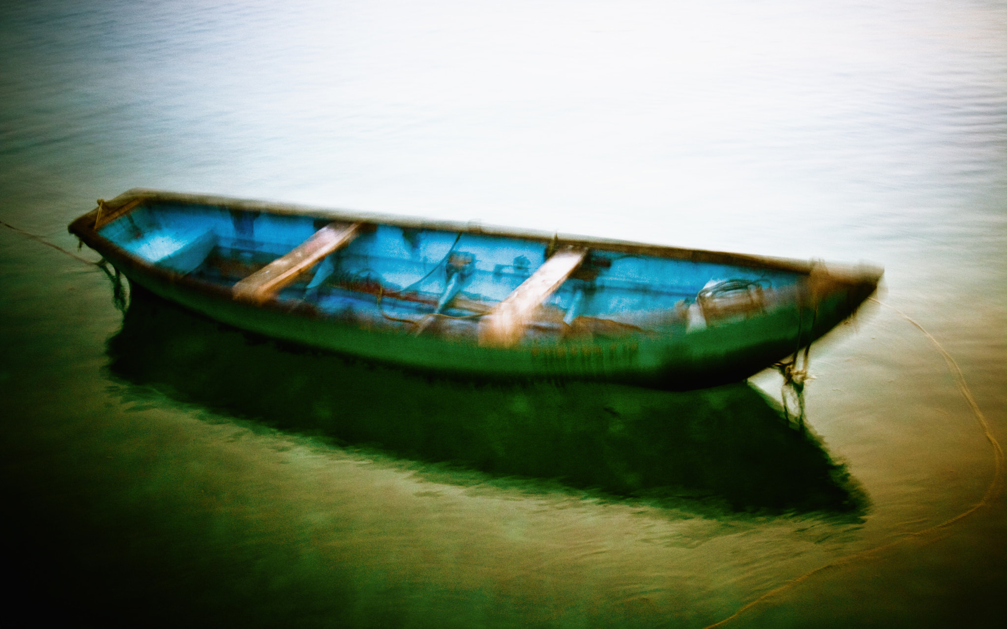 Photograph Boat that once rocked by Rajat Gaur on 500px