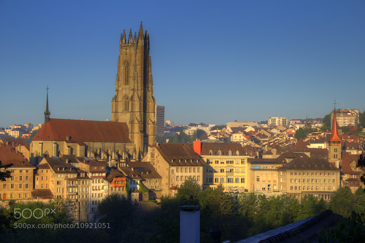 Photograph The Cathedral of St. Nicolas in Fribourg by Stephan Scherz on 500px