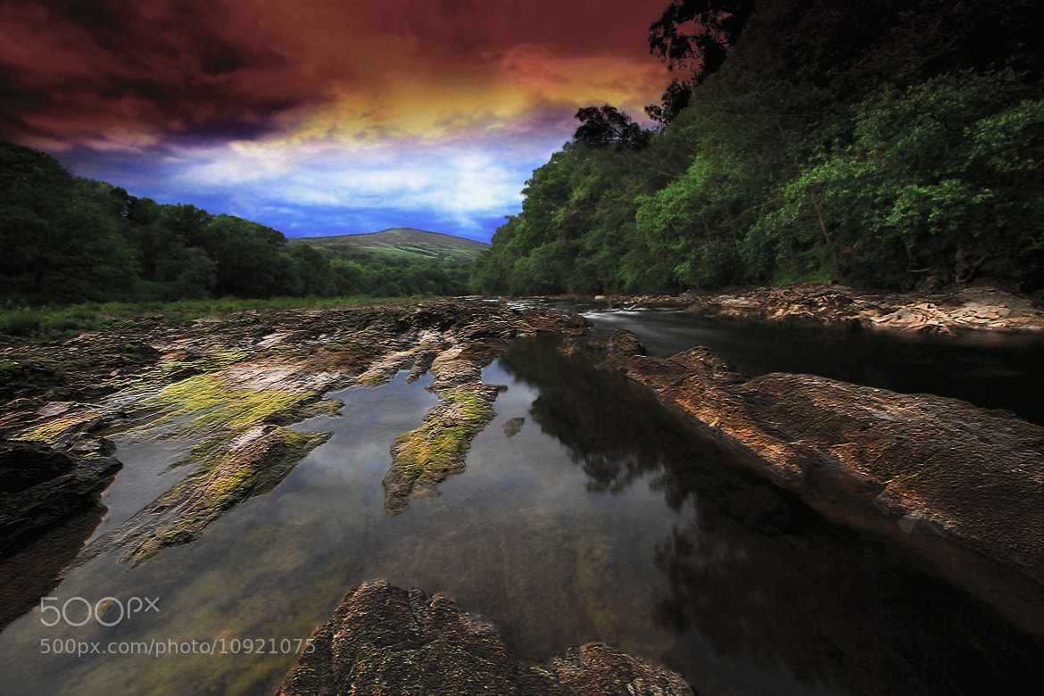 "Photograph ""The Evening River"" by peaky40  on 500px"