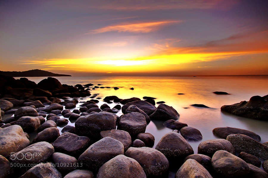 Photograph Scattered stones by Erwin Julian Lie on 500px