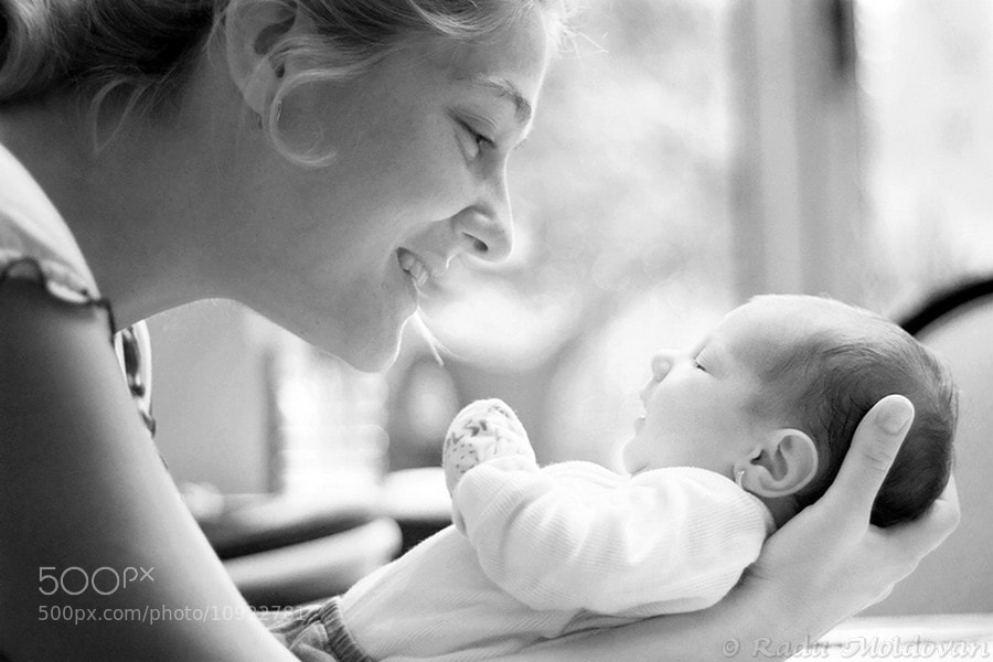 Photograph Mommy's love by Radu Moldovan on 500px