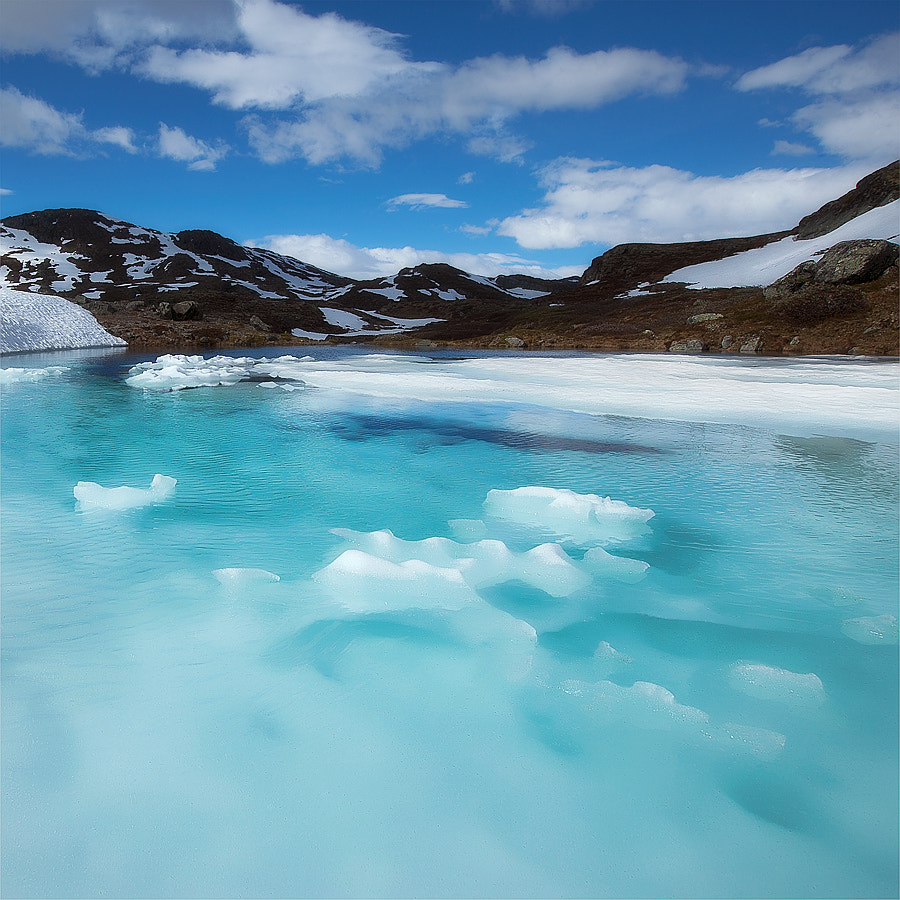 Photograph Icy Waters 2 by Kristof VT on 500px