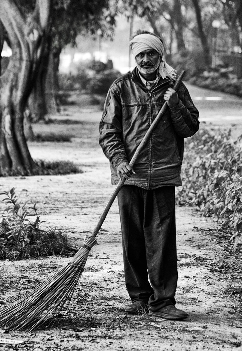 Photograph The Solitary Sweeper by Rajat Gaur on 500px