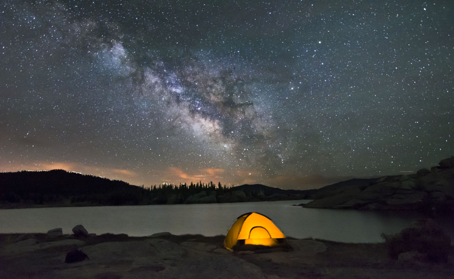 Milky Way at Eleven Mile Reservoir, Colorado by Randall Bayaz on 500px.com
