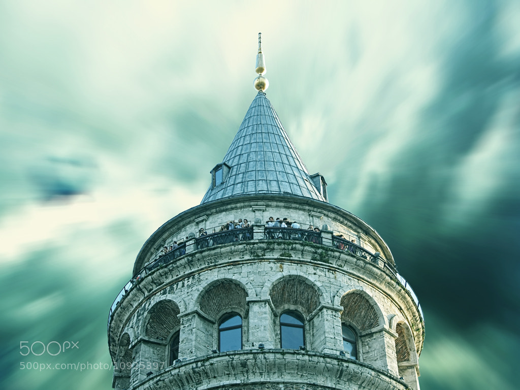 Photograph The Galata Tower-1 by MURAT FINDIK on 500px