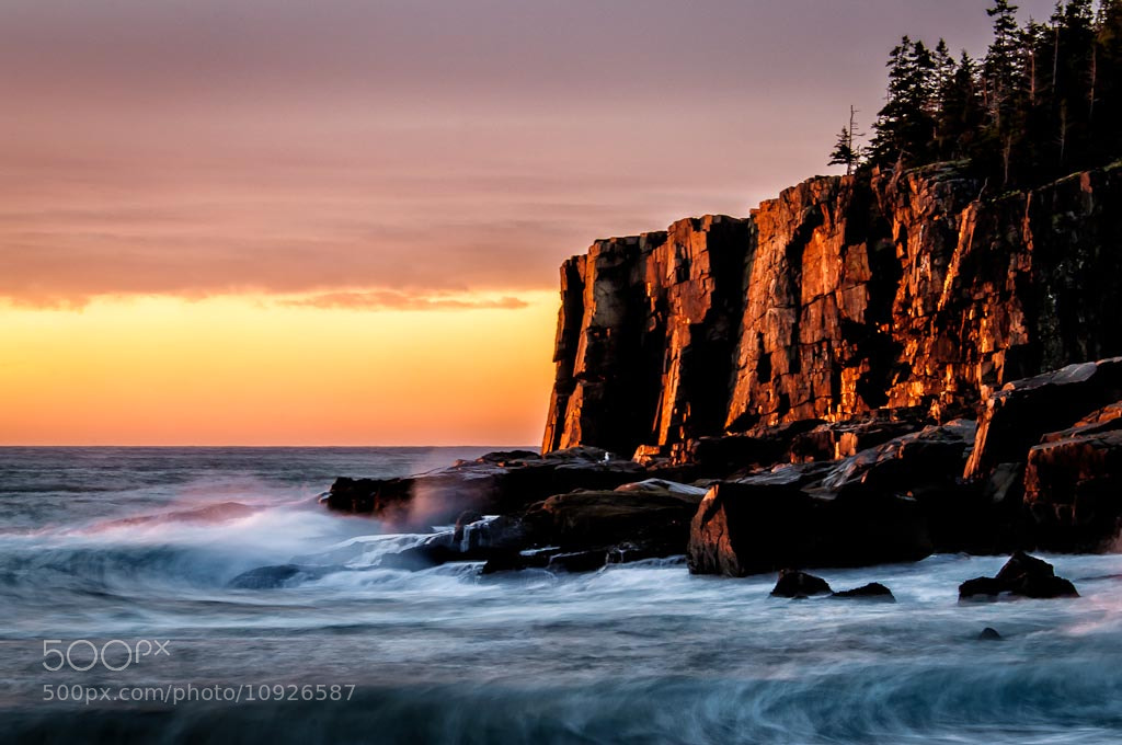 Photograph Rugged Coast by Len Saltiel on 500px