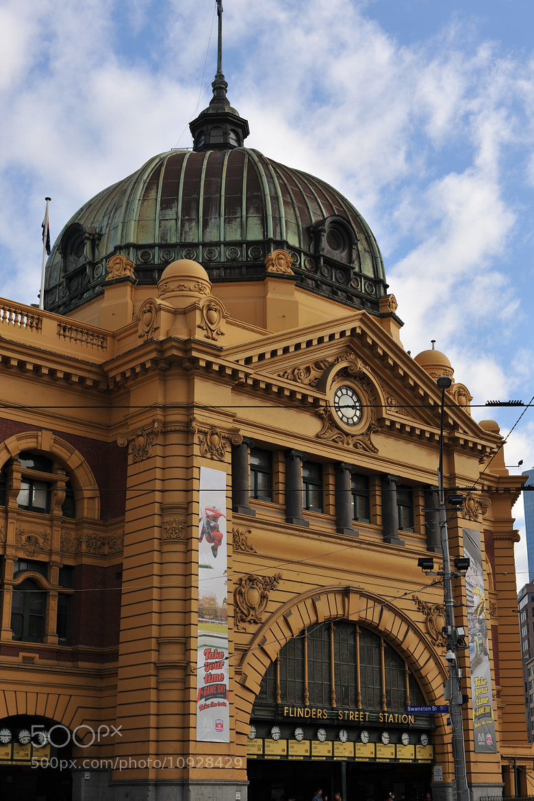Photograph Flinders Street Station by Mark  on 500px