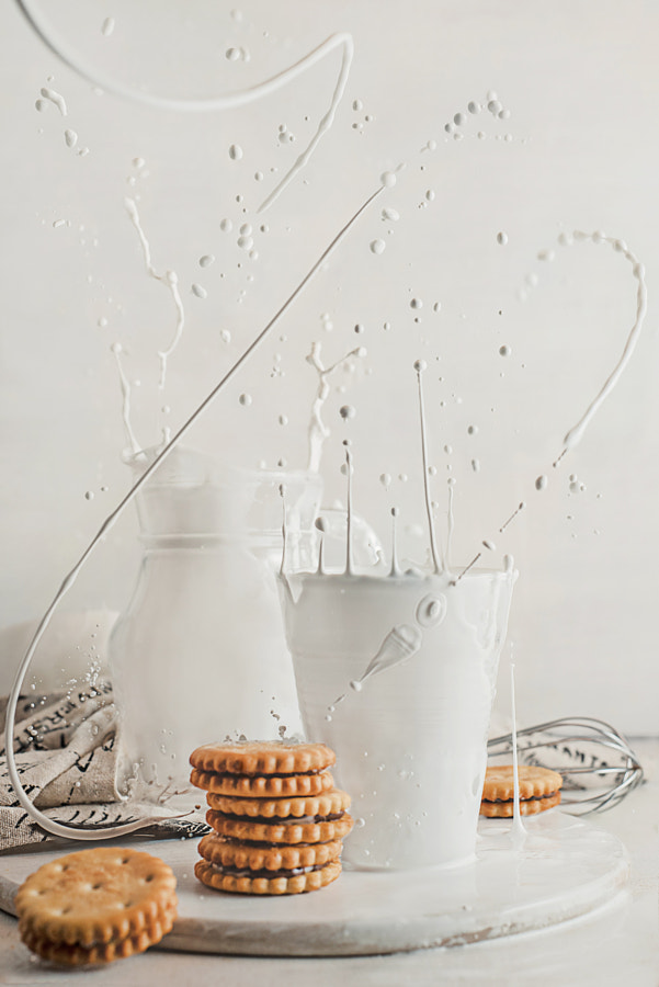 Photograph Spilled milk by Dina Belenko on 500px