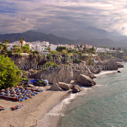 Nerja, Playa Calahonda, Andalusia, Costa del Sol, Spain
