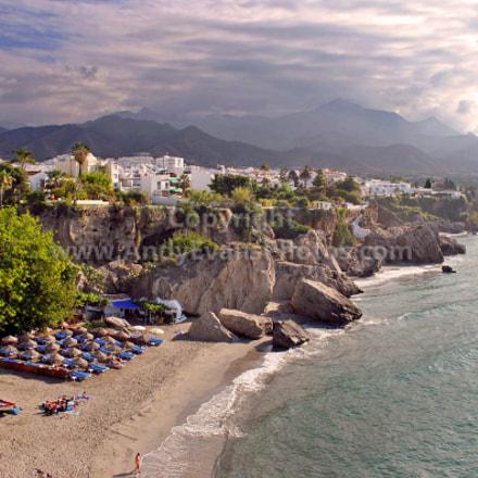 Nerja, Playa Calahonda, Andalusia, Costa del Sol, Spain