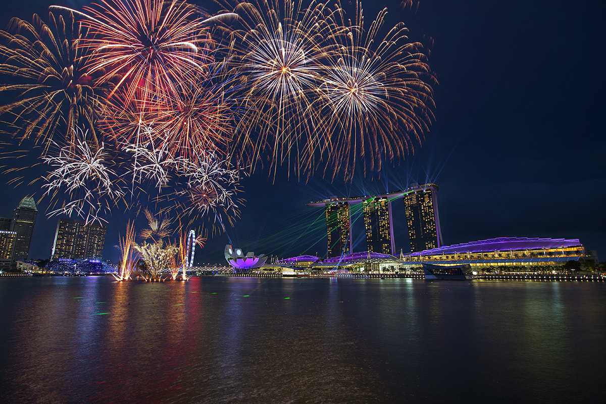 Photograph Intense Fireworks by Partha Roy on 500px