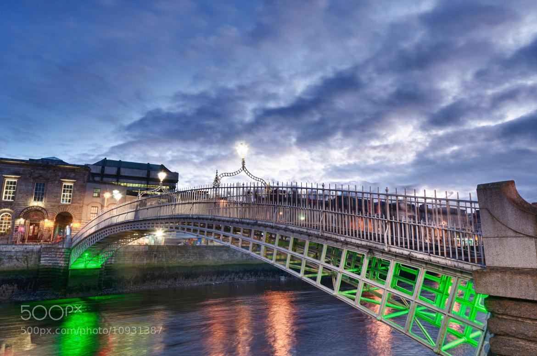 Photograph Liffey bridges of Dublin by Jake Chia on 500px