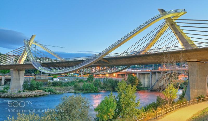 Photograph Puente del Milenio by Alex Feijoo on 500px