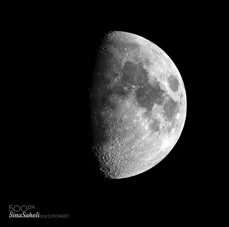 Photograph Half Moon by Sina Saheli on 500px