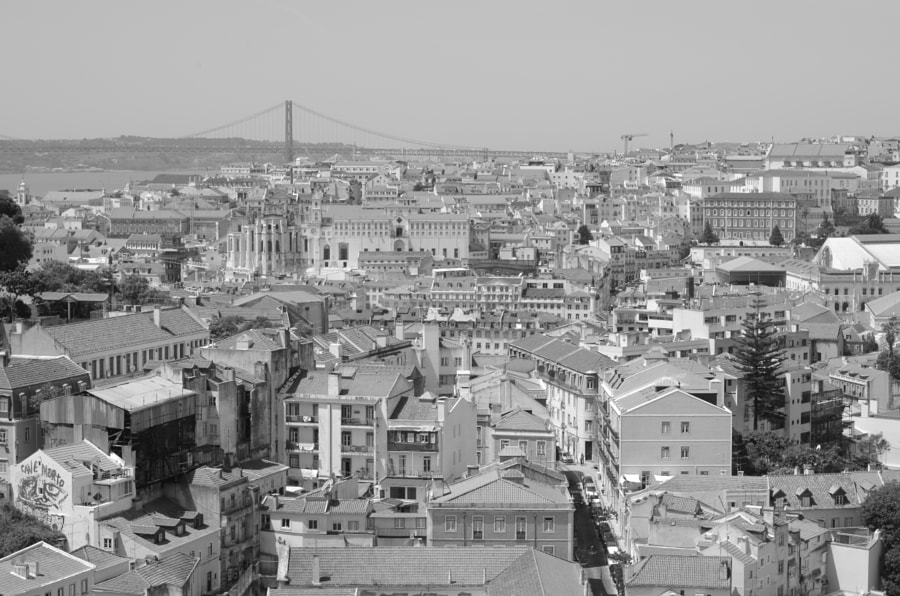 Photograph Lisbon in black and white by Jakub Hajost on 500px
