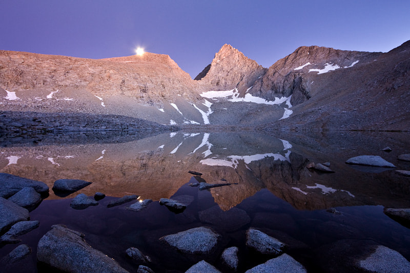 Photograph Junction Peak at Lake 12,100 by Alan Grinberg on 500px